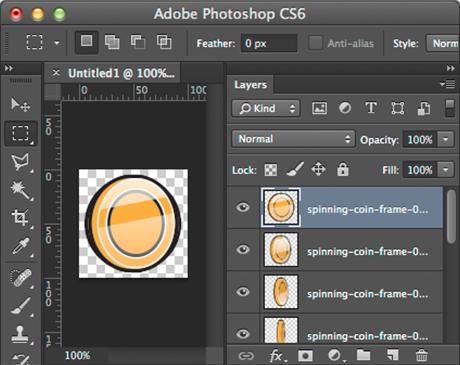 Create HTML5 Animation Sprite Sheet in Photoshop { William Malone }.