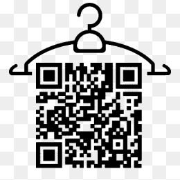 Two Dimensional Code On The Hanger.