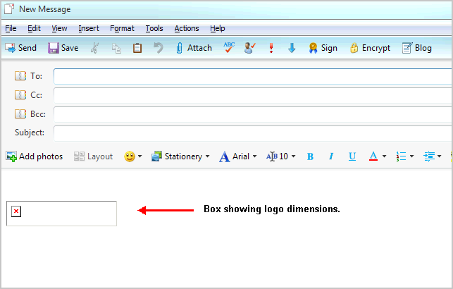 Add Image Signatures to Windows Live Mail.