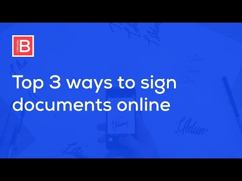 How to Create Electronic and Digital Signature and Sign PDF.