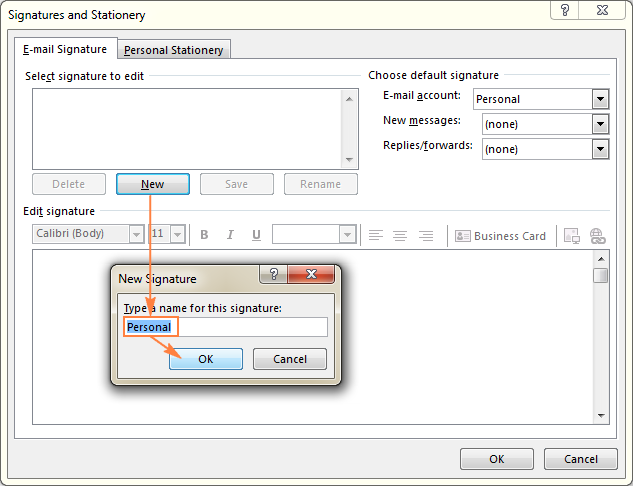 Outlook signature: how to create, add and change email signature.