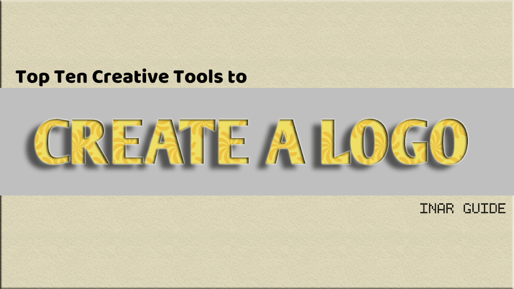 Top Ten Creative Tools to create a Logo Online.