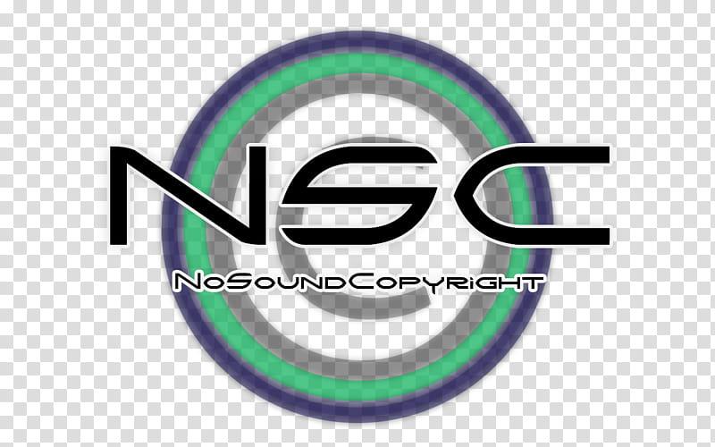 No sound copyright LOGO Created transparent background PNG.