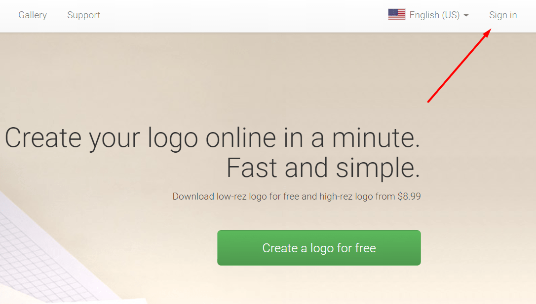 How to get white logo on transparent background?.