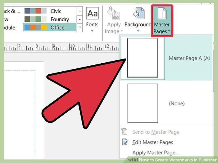 3 Ways to Create Watermarks in Publisher.