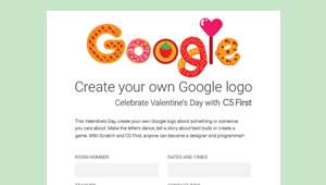 Create your own Google logo.