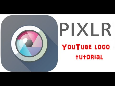 how to create your own YouTube logo (pixlr).