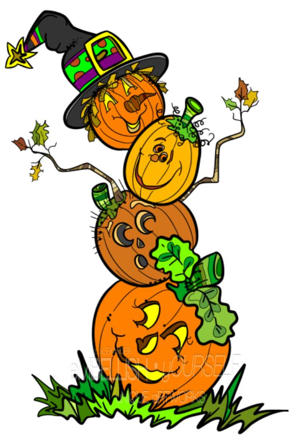 Top 19 ideas about My Halloween clipart creations on Pinterest.