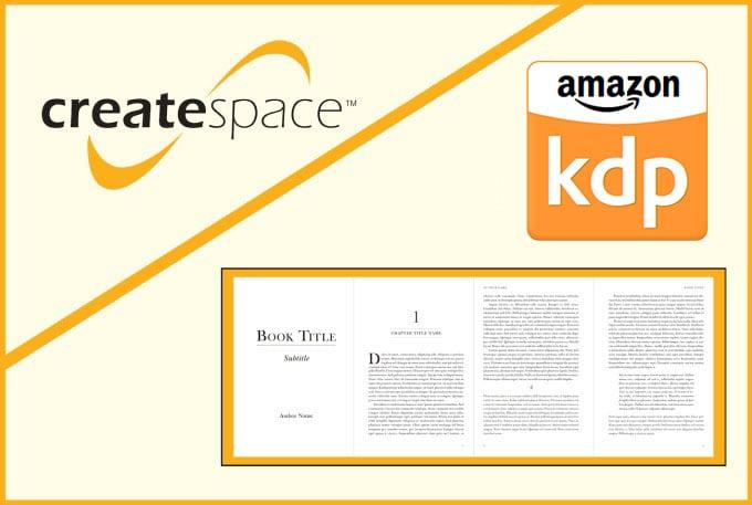 do amazon KDP print or ebook.