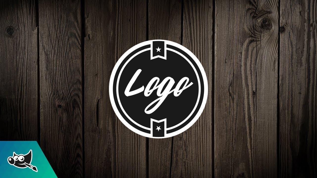GIMP Tutorial: Design a Logo.