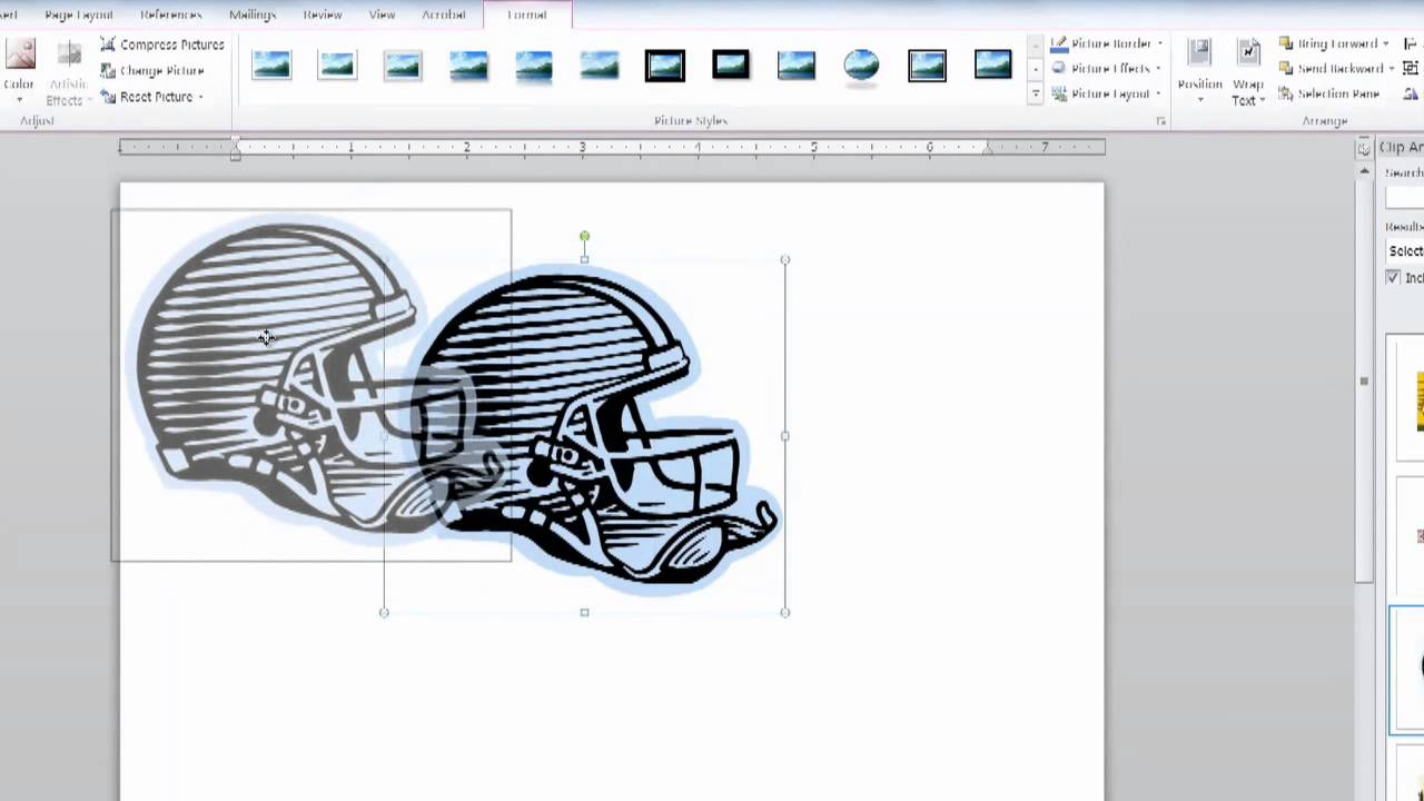 How to Create a Logo With Microsoft Office : Using MS Word.