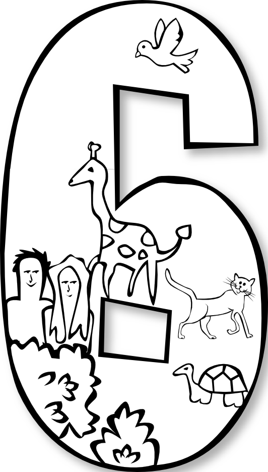 Free Creation Clipart Black And White, Download Free Clip.