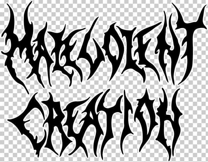 Malevolent Creation Death Metal Music Logo Heavy Metal PNG.