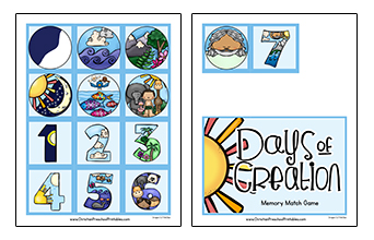 14 cliparts for free. Download Four clipart creation story preschool.