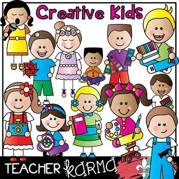 Creative Kids Clipart * Art.