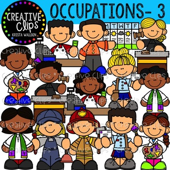 Occupation Clipart 3 {Creative Clips Clipart}.