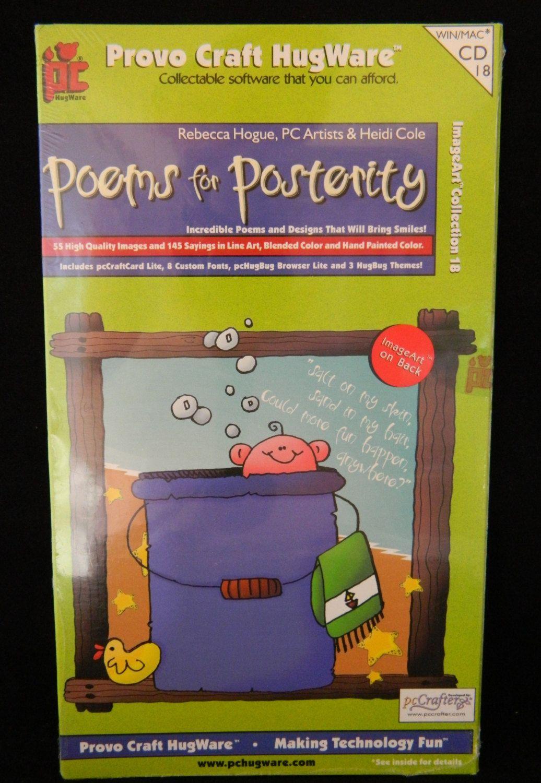 Poems for Posterity Clip Art Software Provo Craft Hugware Scrapbook.