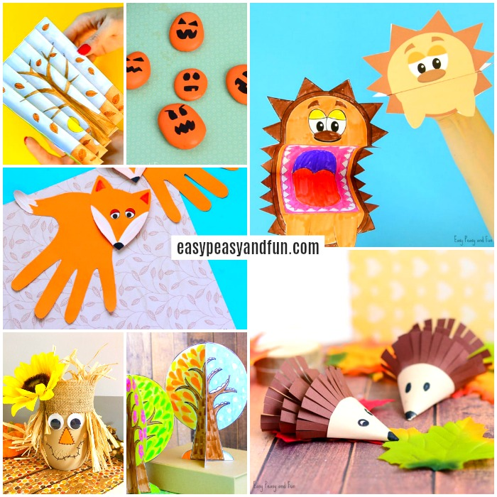 Fall Crafts For Kids.