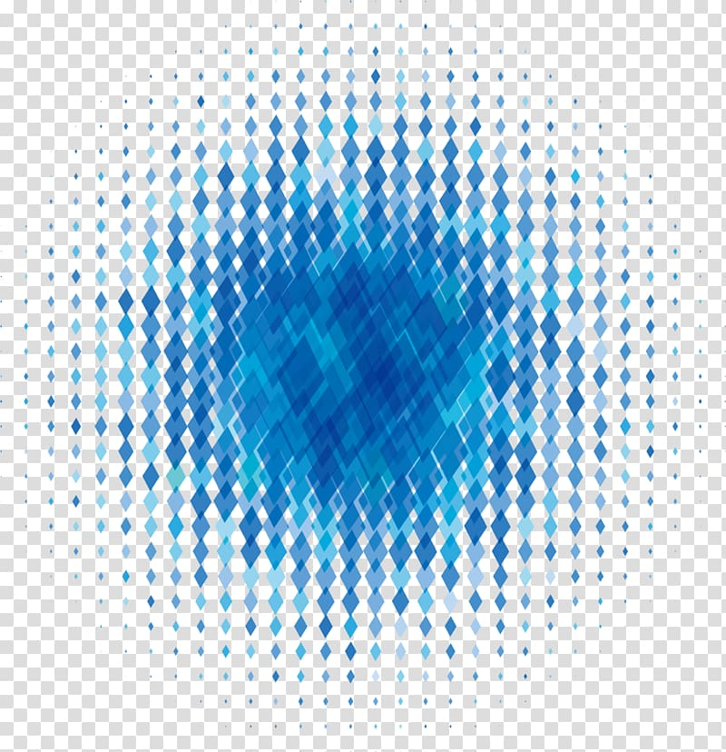 Blue argyle illustration, Graphic design International Typographic.