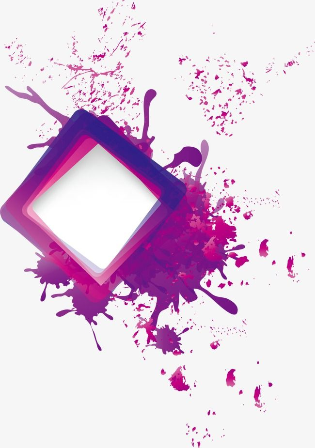 Ink Splashes Border, Trend, Abstract, Abstract Background PNG and.