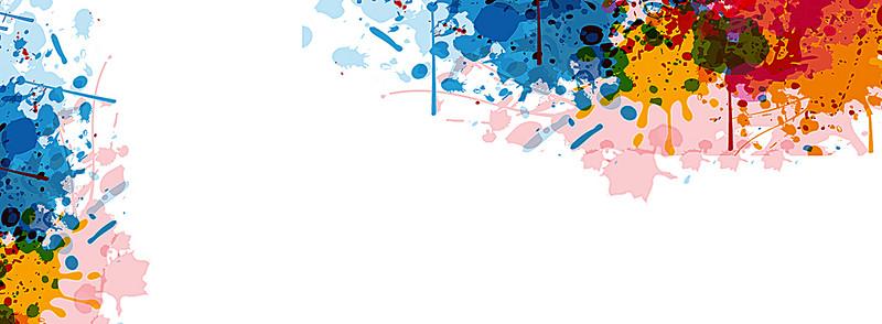 Creative Watercolor Splatter Background, Watercolor, Splash.