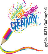 Creativity Clip Art.