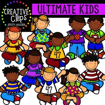 Ultimate KIDS Clipart Collection {Creative Clips Clipart}.