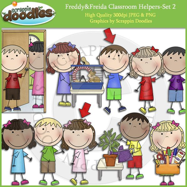 Freddy & Freida Classroom Helpers.