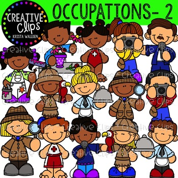 Occupation Clipart 2 {Creative Clips Clipart}.