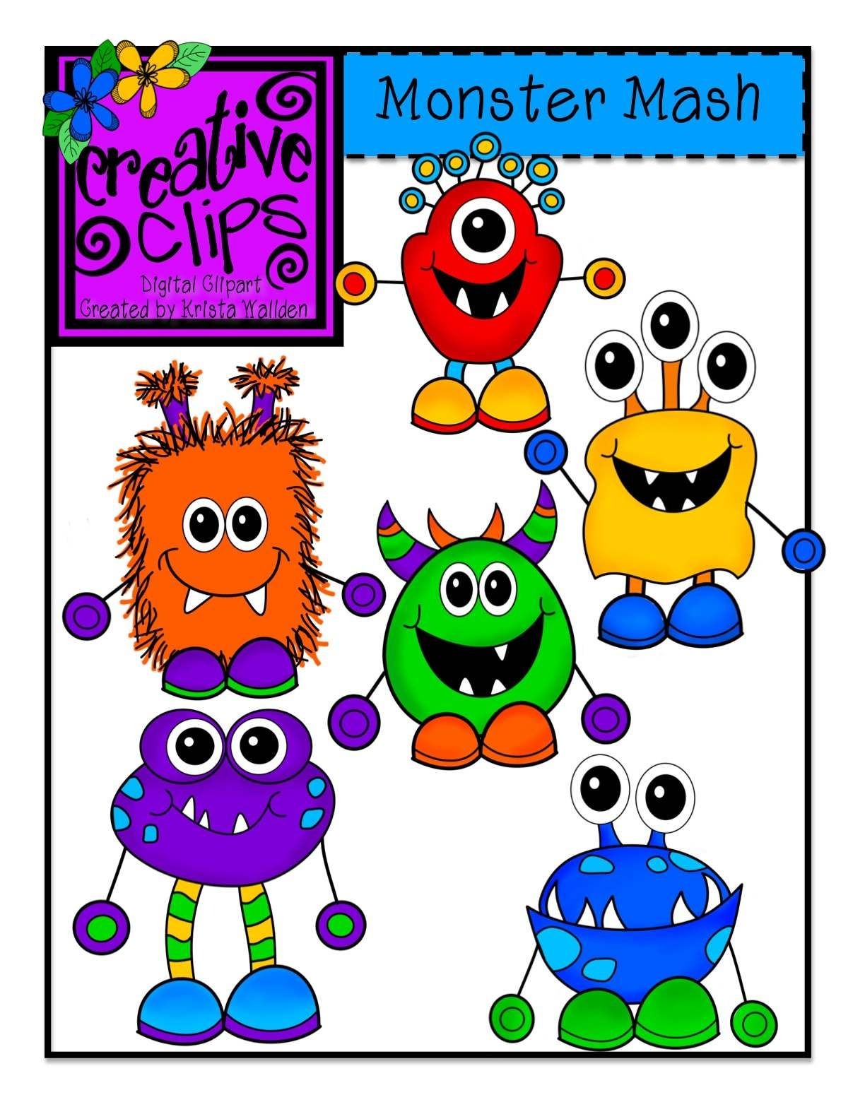 The Creative Chalkboard: Day 2 {Freebie} Monster Writing.