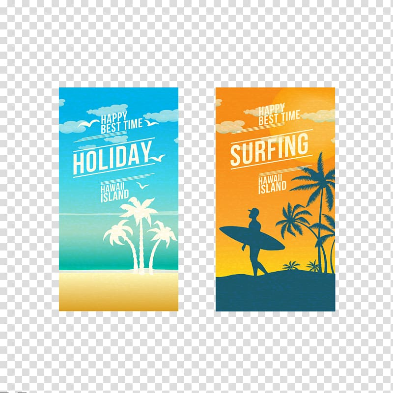 Vacation, 2 Creative summer vacation transparent background.