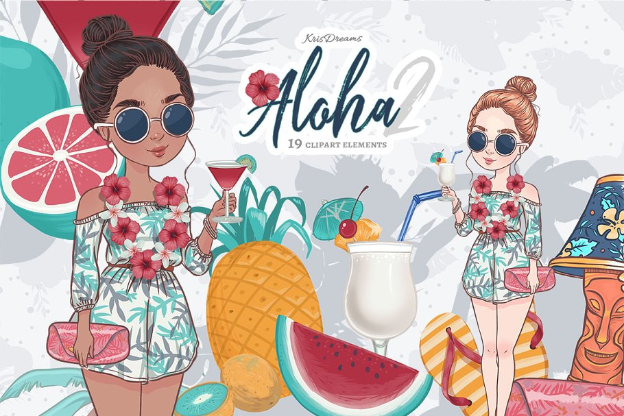 Aloha Lilo Clipart 2.