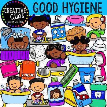 Good Hygiene Clipart {Creative Clips Clipart}.