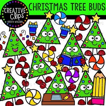 Christmas Tree Buds: Christmas Clipart {Creative Clips Clipart}.
