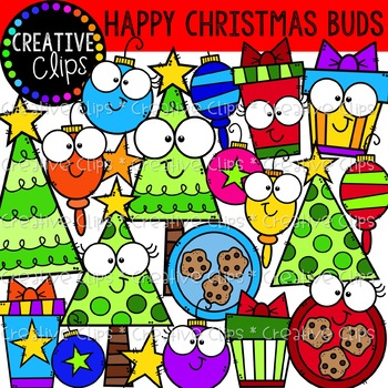 Happy Christmas Buds: Christmas Clipart {Creative Clips Clipart}.