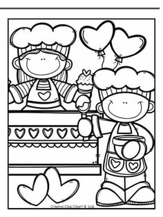 Coloring Books Clipart.