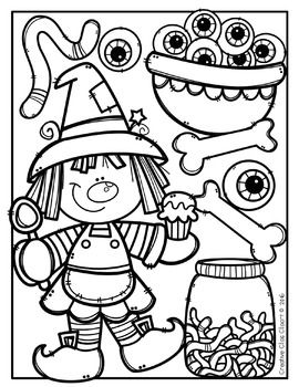 Coloring Pages: Halloween Coloring Pages {Made by Creative.