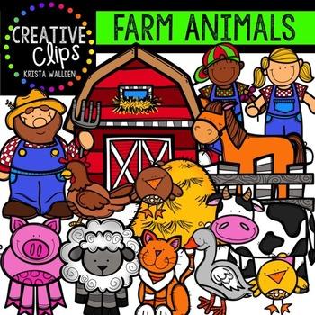 Farm Clipart {Creative Clips Clipart}.