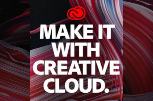 Create amazing work for school and beyond with Adobe Creative Cloud!.
