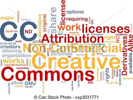 Creative Commons Clip Art.