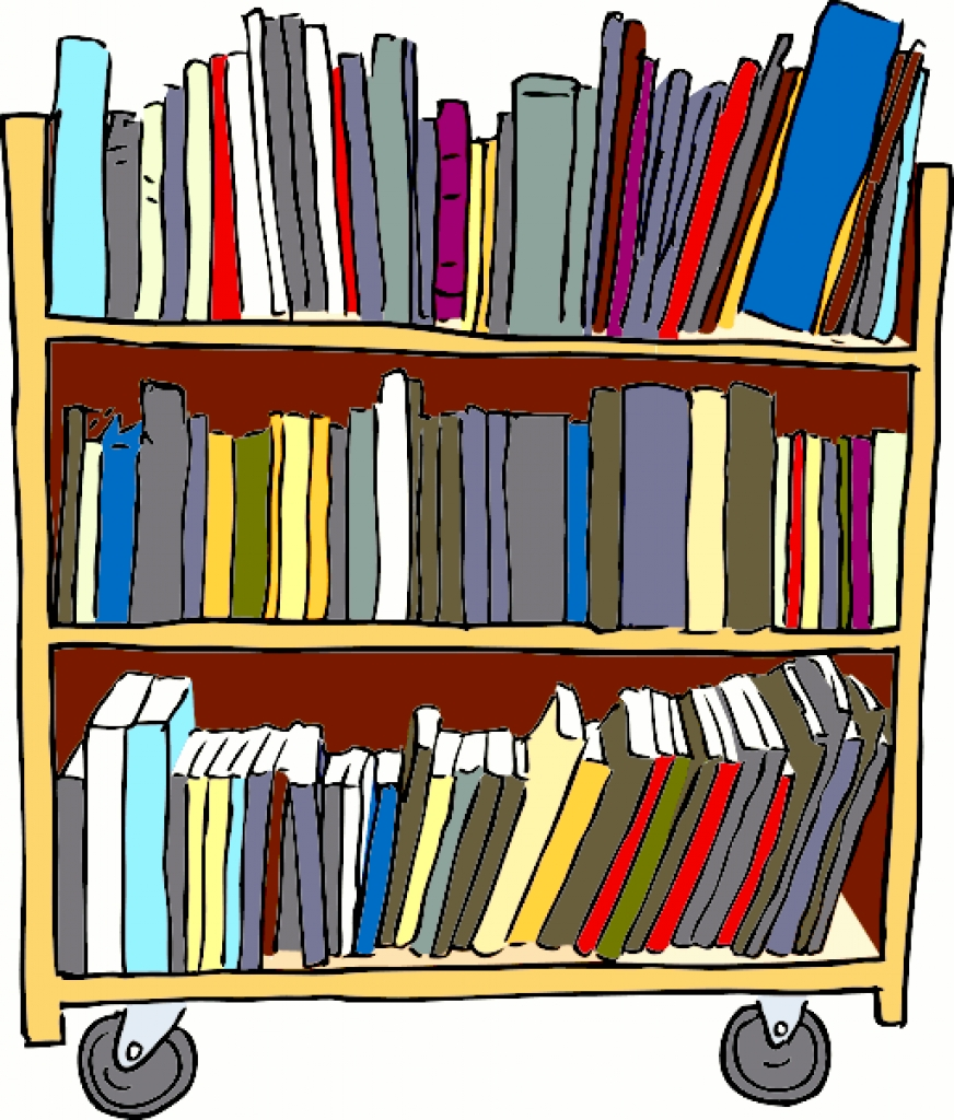 Clip Art Library Book.