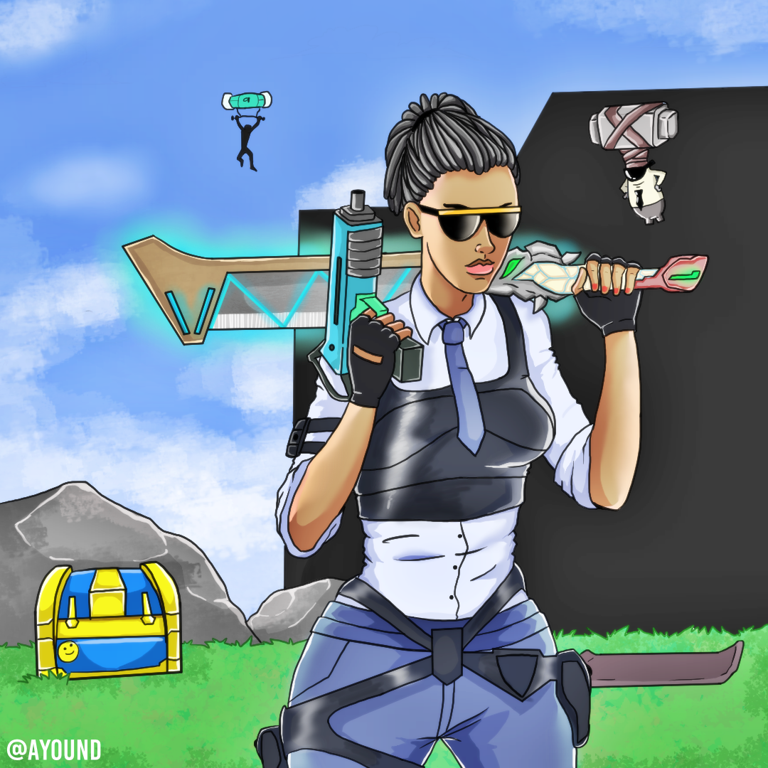 Creative destruction Fan Art by AYOUND on Newgrounds.