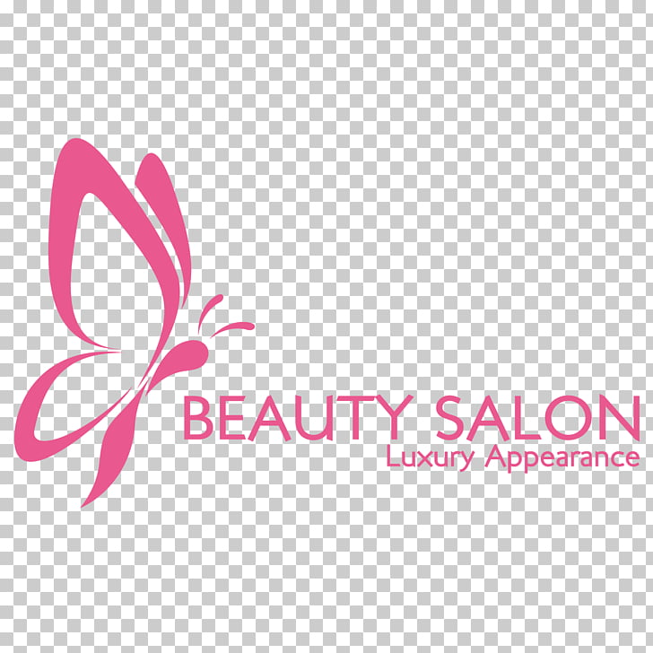 Logo, Pink fashion LOGO design , Beauty Salon logo PNG.