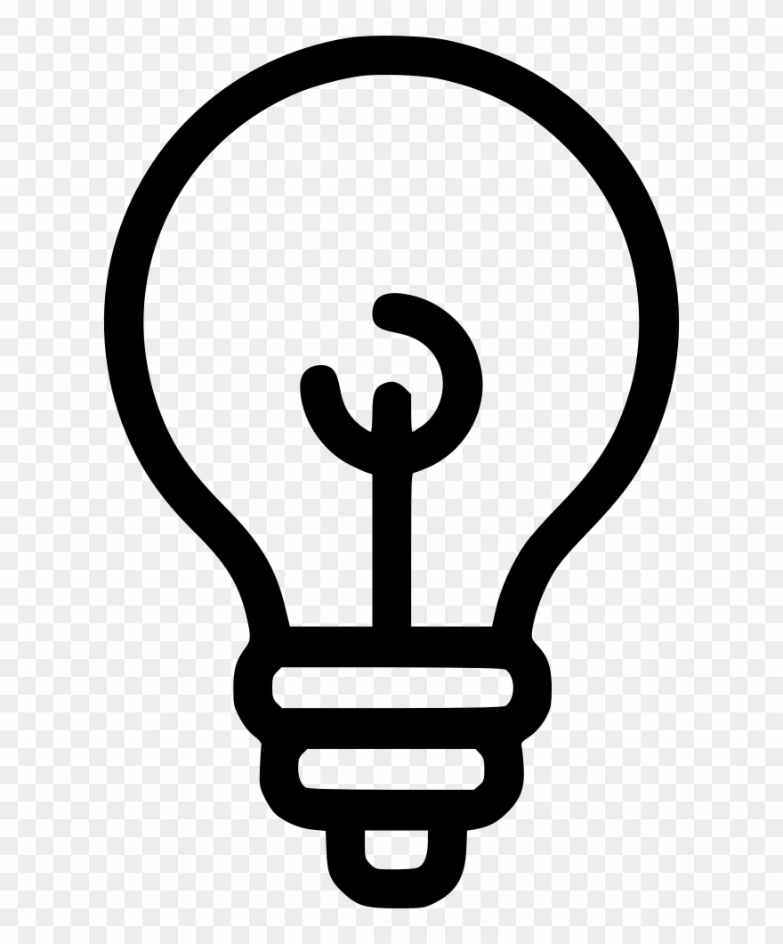 Creative Bulb Lamp Svg Png Icon Free.