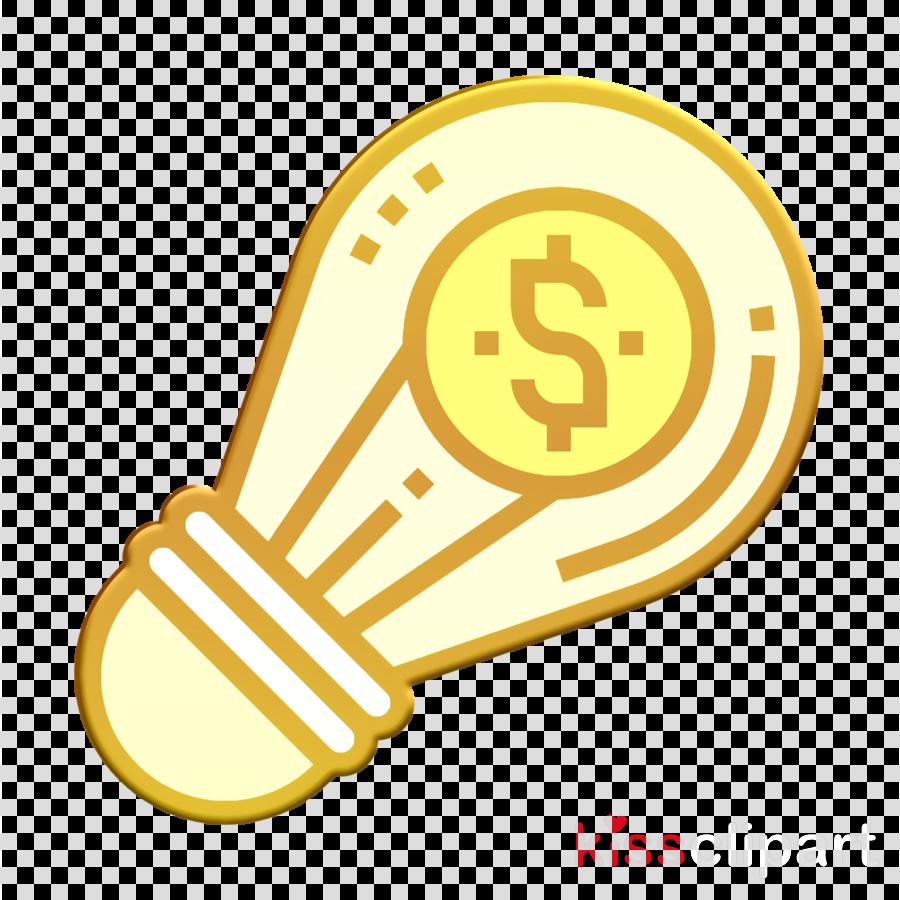 Idea icon Business Analytics icon Creative icon clipart.
