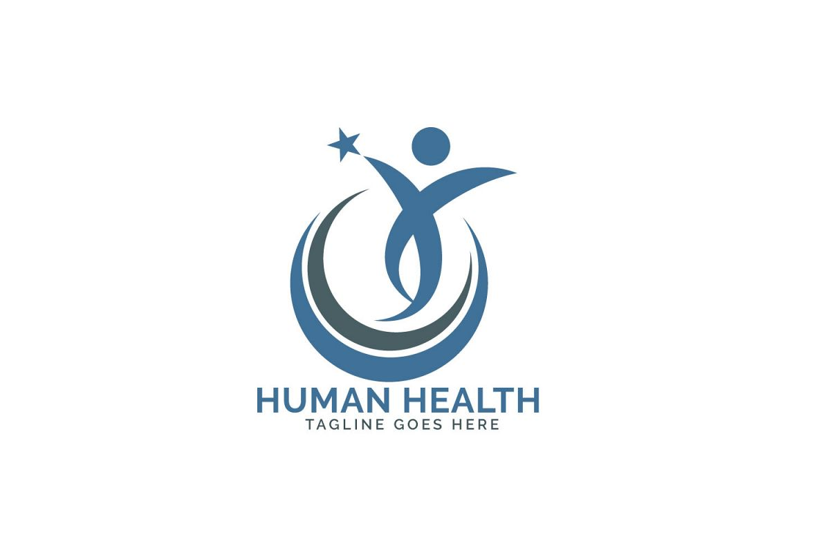 Human star creative logo design..