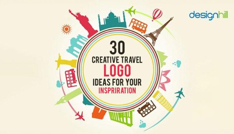 30 Creative Travel Logo Design Ideas for Your Inspiration.