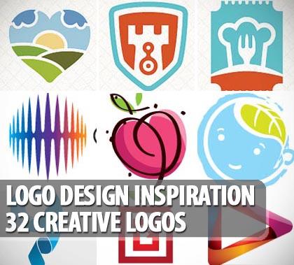 Logo Design Inspiration: 32 Creative Logos.