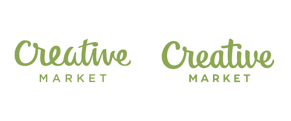 Brand New: New Logo for Creative Market done In.
