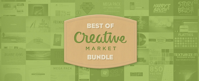 The Best of Creative Market Bundle on AppSumo ~ Creative Market Blog.